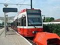 Tram at Beckenham Junction station - geograph.org.uk - 937883.jpg