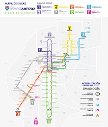 Transmetro system map, as of March 2020.