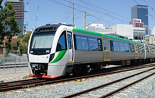 Transperth Trains operator of urban rail services in Perth, Western Australia
