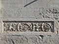Trento-Duomo-pilastrini romani facciata settentrionale dettaglio 3.jpg