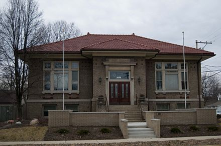 Triangle Fraternity National Headquarters, Plainfield, Indiana, United States Triangle Fraternity National Headquarters.jpg