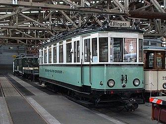 Stra enbahn esslingen nellingen denkendorf wikipedia for Depot esslingen