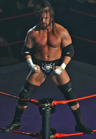 WrestleMania 22 - Triple H, who  challenged John Cena for the WWE Championship