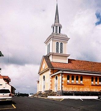 Les Trois-Îlets - The church in Les Trois-Îlets