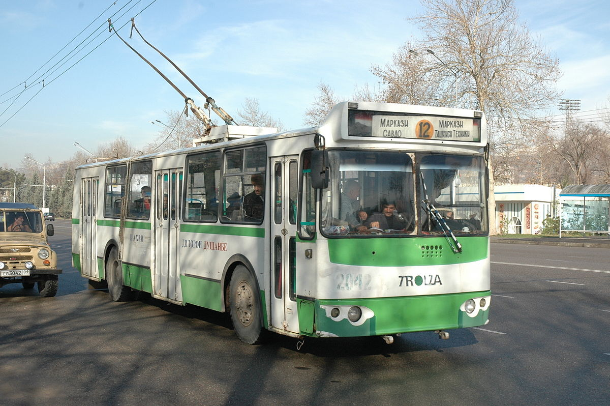 Trolleybuses In Dushanbe Wikipedia