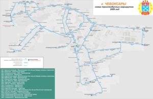 маршрутка 49 схема движения чебоксары