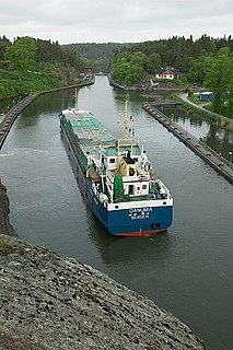Trollhätte Canal a canal in Sweden