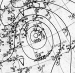 Tropical Storm Seven analysis 18 Oct 1923.png