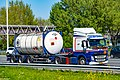 Truck Spotting on the A16 Direction Zwijndrecht 19 04 2019.... Not the Best spot with the Barrier , But better than Nowt . (47644081711).jpg