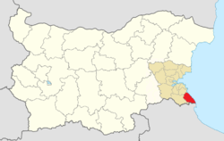 Tsarevo Municipality Within Bulgaria.png