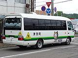 Tsubetsu town bus Ki200K 0436rear.JPG