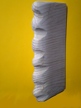 Tubercle effect - Tubercle model of a Humpback whale flipper