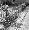 tuinhek gietijzer - loenen aan de vecht - 20141637 - rce