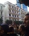 Tunisia Unrest - VOA - Tunis 14 Jan 2011 (1).jpg