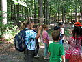 Turtle tracking at Haw River State Park 2.jpg