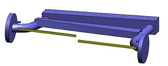 Twist-beam rear suspension - Image: Twistbeam suspension left up