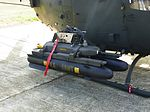 Two AGM-114 Hellfire Missiles Loaded on Mounting Bracket of ROCA OH-58D 20111105.jpg