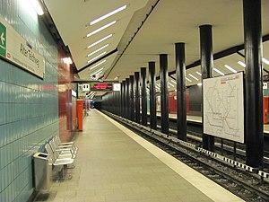 Alter Teichweg (Hamburg U-Bahn station) - Image: U Bahnhof Alter Teichweg