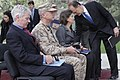 U.S. Ambassador to Afghanistan Ryan Crocker, left; U.S. Marine Corps Gen. John Allen, second from left, the commander of the International Security Assistance Force and U.S. Forces Afghanistan; and U.S. Deputy 111020-S-PA947-467.jpg