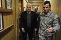 U.S. Sen. John McCain walks with Lt. Gen. Caldwell (4251278043).jpg