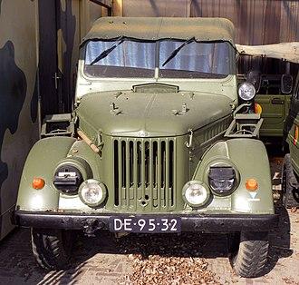 GAZ-69 - Image: UAZ 69
