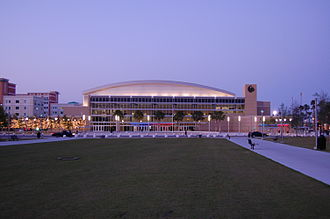 UCF Knights - The CFE Arena opened prior to the 2007 season