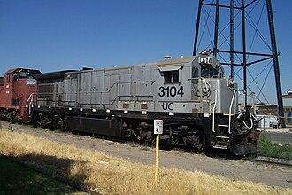 Utah Central Railway (1992) - Image: UCRY 3104
