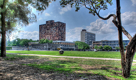 UNAM campus in Mexico City UNAM Ciudad Universitaria.jpg