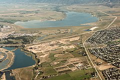 USACE Chatfield dam and reservoir.jpg