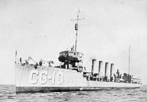 USS Burrows (DD-29)