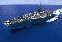 USS Carl Vinson (CVN-70) underway in the Pacific Ocean on 31 May 2015.JPG
