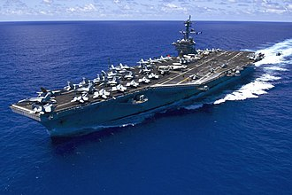 Korean conflict - The USS Carl Vinson (CVN-70)