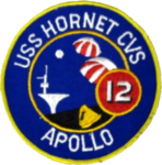 USS Hornet (CVS-12) Apollo 12 recovery mission patch 1969.png