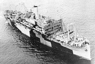 Merlin O'Neill - USS Leonard Wood (APA-12)