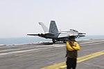USS Theodore Roosevelt flight deck operations 150511-N-SI600-131.jpg