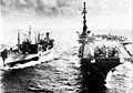 USS Tolovana (AO-64) refueling Midway (CVA-41) c1958.jpg