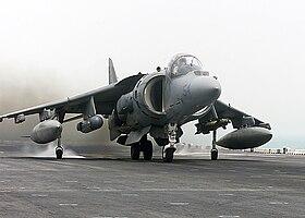 Harrier ii validating v stol aircraft