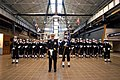 US Navy 031210-N-2383B-038 The U.S. Navy Ceremonial Guard stands at parade rest while in formation.jpg
