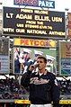 US Navy 040415-N-6213R-013 Lt. Adam Ellis, assigned to the nuclear powered aircraft carrier USS John C. Stennis (CVN 74), sings the National Anthem at Petco Park.jpg
