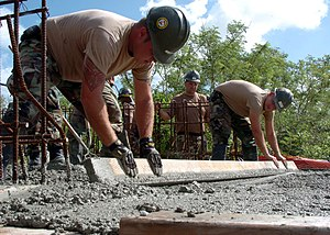 Guam (Dec. 7, 2004) - Constructionman Jason Fa...