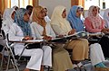 US Navy 050223-N-8796S-135 Indonesian nursing students at the University Hospital in Banda Aceh on the island of Sumatra, Indonesia, listen to a lecture given by U.S. Navy nurses.jpg