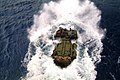 US Navy 060407-N-4772B-029 An Amphibious Assault Vehicle (AAV) assigned to the 31st Marine Expeditionary Unit (MEU) splashes out of the well deck.jpg