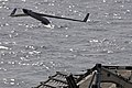 US Navy 110520-N-RC734-019 A Scan Eagle unmanned aerial vehicle (UAV) launches from USS Comstock (LSD 45).jpg