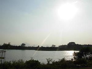 Ukkadam-Valankulam Lake - Image: Ukkadam big lake
