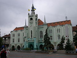 Mukačevská radnice