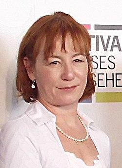 Ulrike Krumbiegel beim Festival Großes Fernsehen 2013 (cropped).JPG