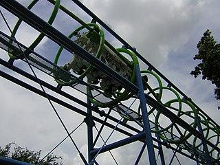 Pipeline roller coaster