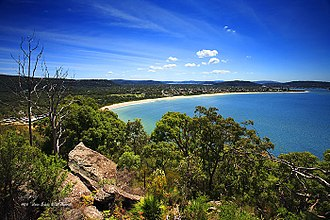 Central Coast (New South Wales) - Image: Umina Beach
