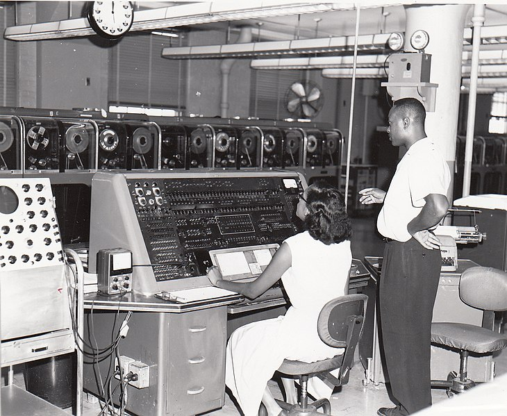 File:Univac I at Census Bureau with two operators.jpg
