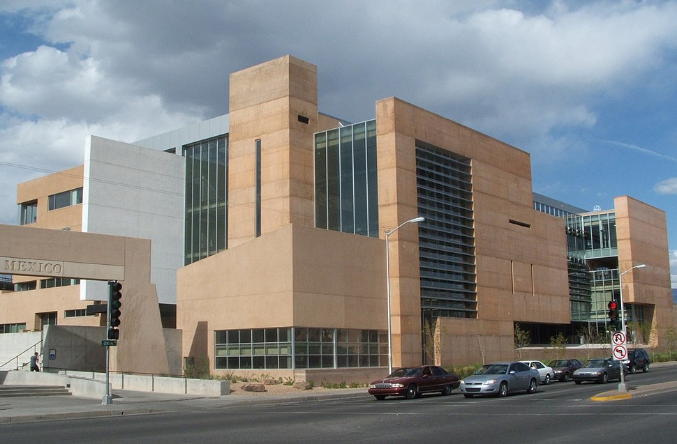 Unm georgepearlhall